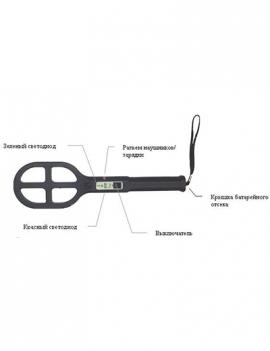Металлодетектор EB610, SC61