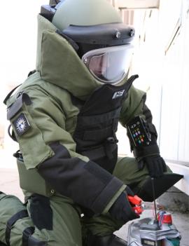 Вибухозахисний костюм EOD-9